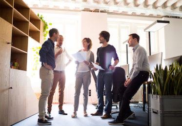 Konversationsengelska med kollegor