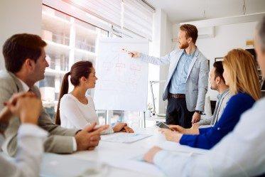 arbeta agilt en föreläsning och presentation