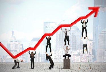 Säljutbildning och diagram