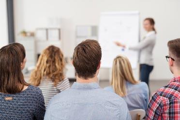 Genomgång under utbildning i engelska